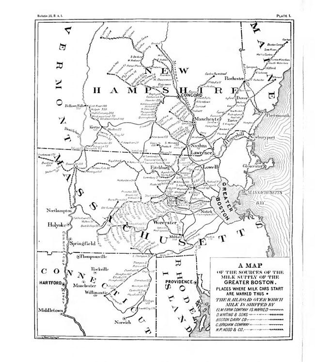 ReSurveyTxt - Us map milkshed